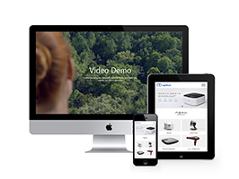 智能生活家居类企业网站
