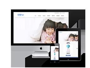 自适应婴幼儿童产品类网站