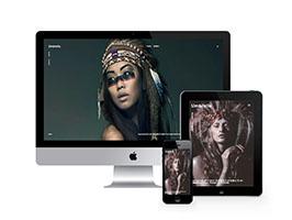 响应式摄影艺术相册展示网站