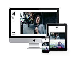 响应式炫酷摄影相册网站