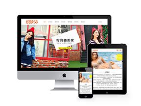 中英双语响应式视觉艺术摄影类网站