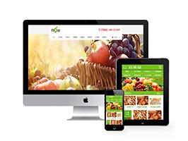 中英双语果园水果订购类网站