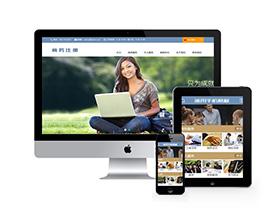 中英文商务工商注册税务类企业网站