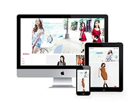 服装服饰展示响应式网站