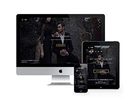 响应式高端创意企业网站