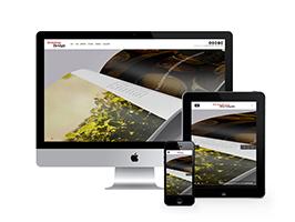 响应式图片摄影展示类网站