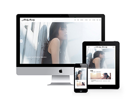 响应式单页视频背景摄影相册网站