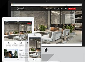 HTML5室内设计公司响应式网站