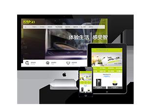 绿色环保科技营销通用企业网站