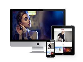 高端企业广告设计服务类网站