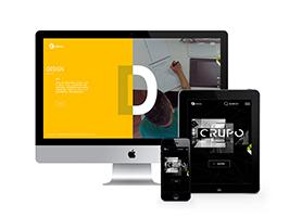 高端炫酷产品设计展示网站