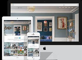 HTML5家居设计公司响应式网站
