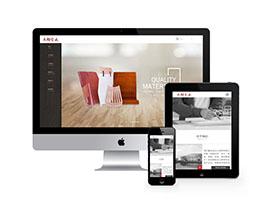 响应式木材板材制品生产类网站